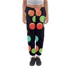 Colorful Circles Women s Jogger Sweatpants by Valentinaart