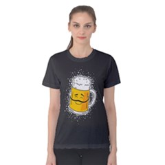 For All The Beer Lovers Women s Cotton Tee by Contest2494620