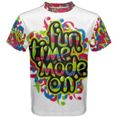 Fun Time Men s Cotton Tee