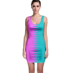 Contrast P1 Sleeveless Bodycon Dress by olgart