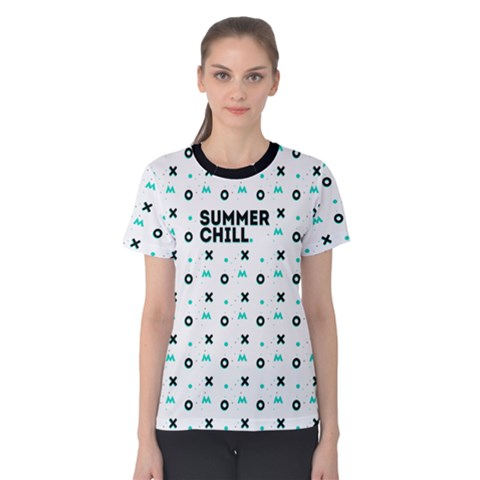 Summer Chill Women s Cotton Tee by Contest2494987
