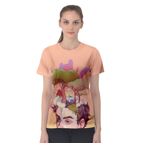 Brainstorm Women s Sport Mesh Tee by Contest2494699