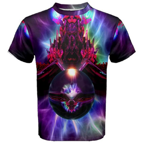 """dragon Orb"" By Spaced Painter Men's Cotton Tee"