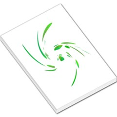 Green Twist Large Memo Pads