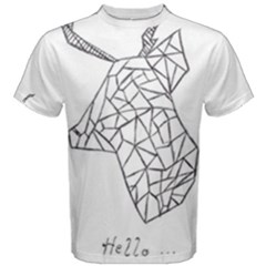 My Passion= Sketch Men s Cotton Tee by Contest2348538