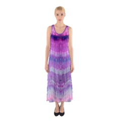 Tie Dye Color Sleeveless Maxi Dress by olgart