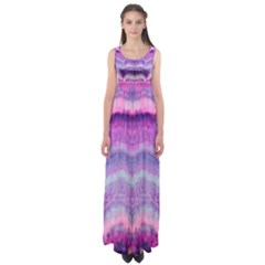 Tie Dye Color Empire Waist Maxi Dress by olgart