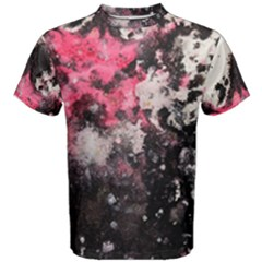 Splash-ink Men s Cotton Tee by Wanni