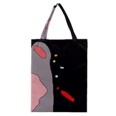 Crazy Abstraction Classic Tote Bag by Valentinaart