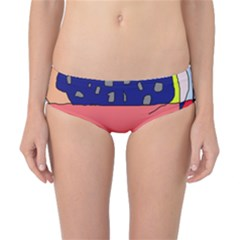 Playful Abstraction Classic Bikini Bottoms by Valentinaart