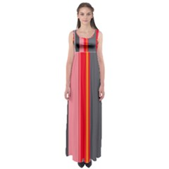Optimistic Lines Empire Waist Maxi Dress by Valentinaart