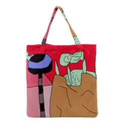 Imaginative Abstraction Grocery Tote Bag by Valentinaart