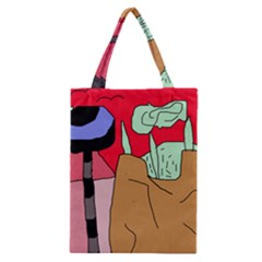 Imaginative Abstraction Classic Tote Bag by Valentinaart