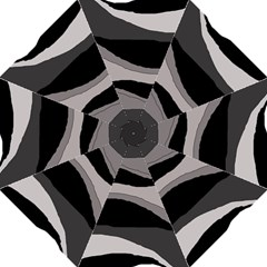 Black And Gray Design Straight Umbrellas by Valentinaart