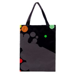 Colorful Dots Classic Tote Bag by Valentinaart