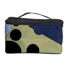 Elegant Dots Cosmetic Storage Case by Valentinaart