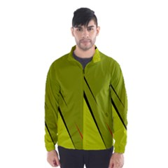 Yellow Elegant Design Wind Breaker (men)