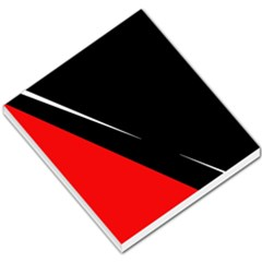Black And Red Design Small Memo Pads by Valentinaart