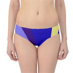 Geometrical Abstraction Hipster Bikini Bottoms by Valentinaart