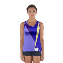 Geometrical Abstraction Women s Sport Tank Top  by Valentinaart