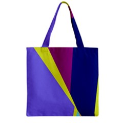 Geometrical Abstraction Grocery Tote Bag by Valentinaart