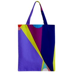 Geometrical Abstraction Zipper Classic Tote Bag by Valentinaart