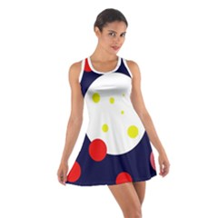 Abstract Moon Racerback Dresses by Valentinaart