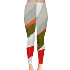 Decorative Abstraction Leggings  by Valentinaart