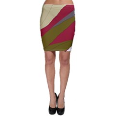 Decoratve Abstraction Bodycon Skirt by Valentinaart