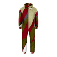 Decoratve Abstraction Hooded Jumpsuit (kids)