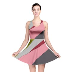 Colorful Abstraction Reversible Skater Dress by Valentinaart