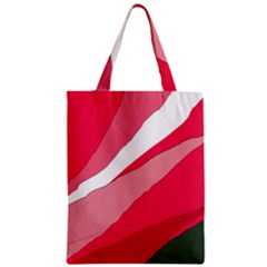 Pink Abstraction Zipper Classic Tote Bag by Valentinaart