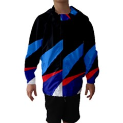 Colorful Abstraction Hooded Wind Breaker (kids) by Valentinaart