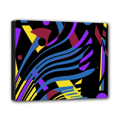 Optimistic Abstraction Canvas 10  X 8  by Valentinaart
