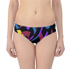 Optimistic Abstraction Hipster Bikini Bottoms by Valentinaart
