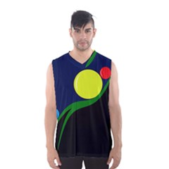 Falling  Ball Men s Basketball Tank Top