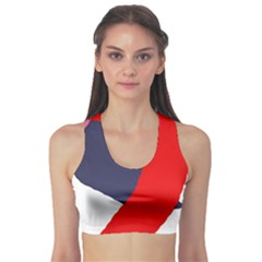 Beautiful Abstraction Sports Bra by Valentinaart