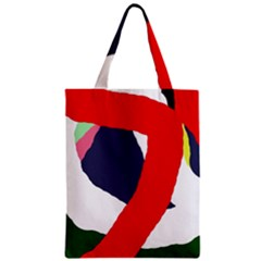 Beautiful Abstraction Zipper Classic Tote Bag by Valentinaart