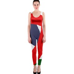 Beautiful Abstraction Onepiece Catsuit by Valentinaart