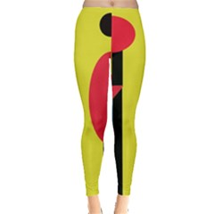 Abstract Landscape Leggings  by Valentinaart