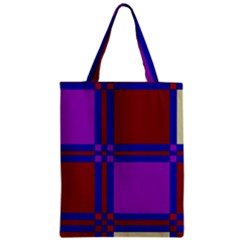 Deorative Design Zipper Classic Tote Bag by Valentinaart
