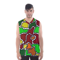 Africa Abstraction Men s Basketball Tank Top by Valentinaart
