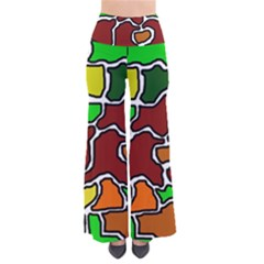 Africa Abstraction Pants by Valentinaart