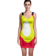 Colorful Abstraction Sleeveless Bodycon Dress by Valentinaart
