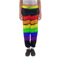 Rainbow Women s Jogger Sweatpants by Valentinaart