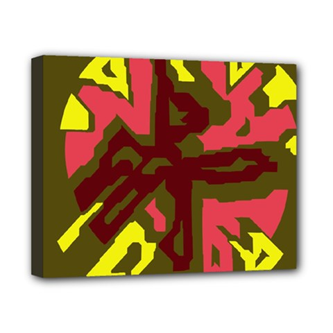 Abstraction Canvas 10  X 8