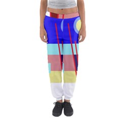 Abstract Landscape Women s Jogger Sweatpants by Valentinaart