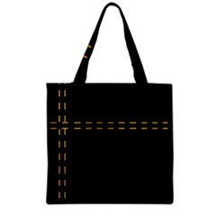 Elegant Design Grocery Tote Bag by Valentinaart