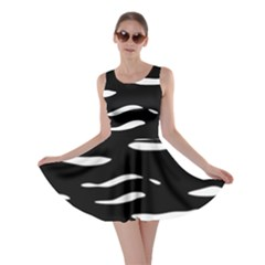 Black And White Skater Dress by Valentinaart