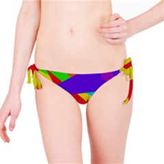 Colorful Abstract Design Bikini Bottom by Valentinaart